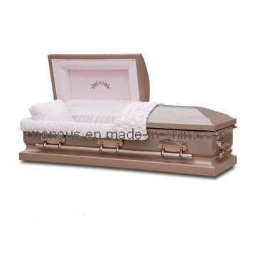 US Style Stainless Steel Casket (15H5030)
