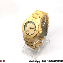 Top-Qualität Ahorn-Holz Uhren Quarzuhren
