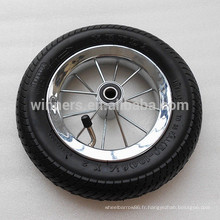 8 1/2 petite roue de bicyclette de poussette pneumatique