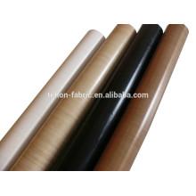 China Hersteller PTFE Teflon Hochtemperatur Fiberglas Stoff Stoff