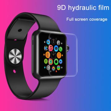 Protector de pantalla de vidrio para Apple Smart Watch 1/2/3/4/5
