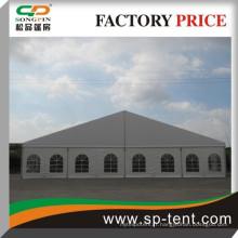 Tente en aluminium 20x20m avec tissu pvc ignifuge