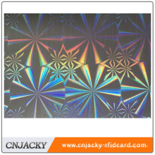 Beautiful Laser Hographic PVC Hologram PVC For Top Class Card