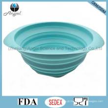 Acessórios de Cozinha Eco-Friendly Filtro de Silicone Basket para lavar frutas e legumes Sk36 (L)
