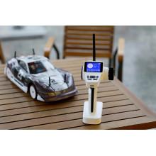 2.4G eléctrico 4WD sin escobillas 1: 10 aleación de aluminio cepillado Racing RC Car