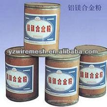 Poudre d'alliage Al-Mg pour feux d'artifice et craquelins
