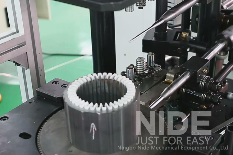 nide stator wire lacing machine