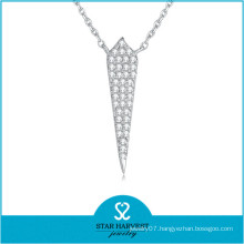 2015 Best Selling Silver Chain Necklace (N-0325)