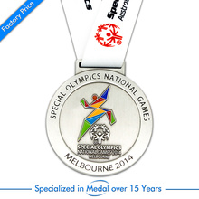 Fornecimento OEM Jogos Olímpicos de Melbourne Gold, Silver, Copper Running Medal From China