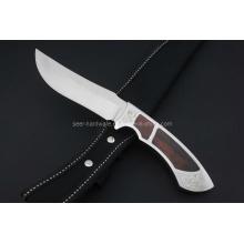 Wood Handle Fixed Knife (SE-0419)