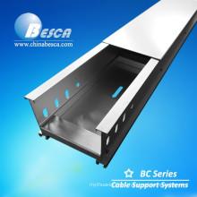 Aluminium Alloy Through Cable Tray With CE Mark (Aluminium Perofile)