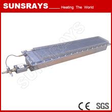 Metall Oberflächenbehandlung Trocknung, Infrarot-Gasbrenner