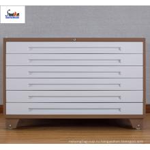 Сталь кабинет шкаф запираемый многофункциональный карте ящик металлический шкаф с колесами
