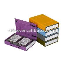 """2,5 """"e 3,5"""", estojo HDD, caixa de proteção HDD, HDD Estojo externo, protetor HDD, caixa de armazenamento HDD, promoção de Natal e descontos"""