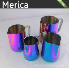 Stainless Steel Colourful Latte Art Milk Pitcher