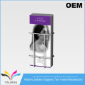 Retail Metal Slatwall Brochure Display Pocket for Literature Holder