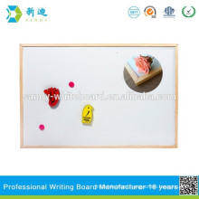 magnetic promotional whiteboard and drawing board with wooden frame