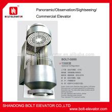 circular glass elevator passenger Elevator,sightseeing elevator price