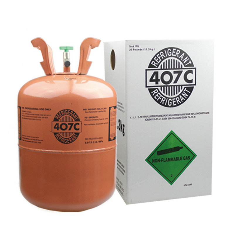 Refrigerants R407c gas