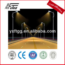 galvanized steel soffit lighting pole