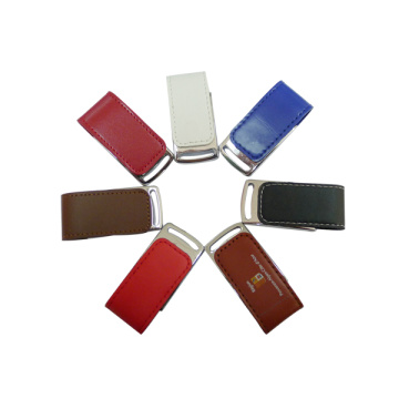 Regalo 4gb Pen drive Flash USB de cuero