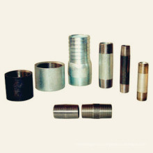 NPT thread carbon steel pipe nipple