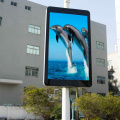 P4 LED-display met hoge resolutie Smart Pole Billboard