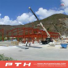 2015 Low Cost Große Spannweite Stahlstruktur Lager