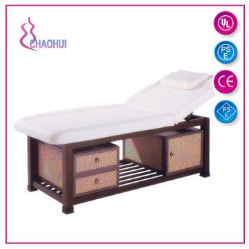 Garantie 1 an lit de massage confortable en bois