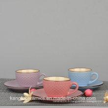 Ensemble de thé glacé et tasse à thé de style européen