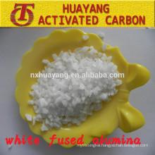 99% Al2O3 abrasive white corundum (WFA) for sand blasting