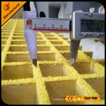 Anti-slip surface 25mm thick frp grating sheet