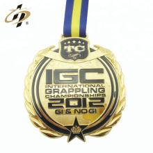 Médaille de sport en alliage de zinc sur mesure