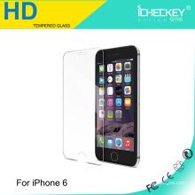 Buena calidad para el vidrio moderado de Iphone 6, marca de Icheckey para el protector de cristal moderado de la pantalla de Iphone 6