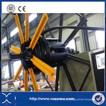 PE Tritube Extrusion Manufacture Machinery