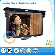 HD 21,5 polegadas bus lcd suporte de sinalização digital WiFi ou rede 3G