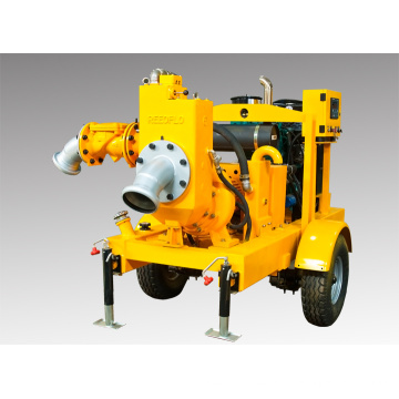 Bomba de agua auto amortiguadora de motor diesel movible