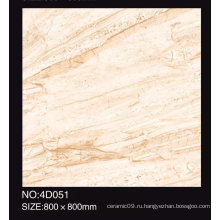 Полностью полированная глазурованная мраморная плитка для дизайна