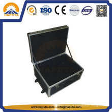 Rack de personalizar a mala de alumínio caso para transporte