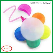 Five colors flower highlighter