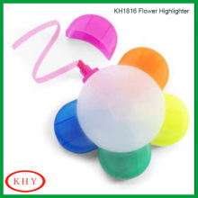 Flower Highlighter Marker with chisel point