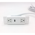 BAYU Dual Outlet With Single USB For Furntiure