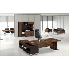 Bureau de bureau en bois moderne de haute qualité (HF-TWB118)