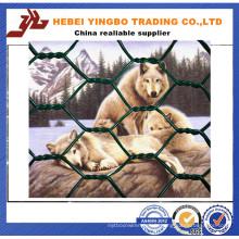 Le terrain de sport a utilisé panneau de clôture de fer en fer recouvert de PVC (YB008)
