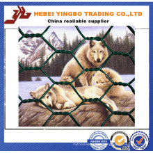 Sports Field Used PVC Coated Iron Chain Link Fence Panel (YB008)