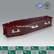 LUXES Mahogany Paper Casket Australian Popular Sale Coffins