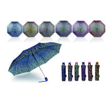 Decorative Pattern Compact Open&Close Umbrellas (YS-3FD22083971R)