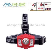 2014 nuevo diseño 3W + 4 LED rojo super brillante faro