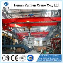 """Casting Overhead Crane High Quality notre équipe professionnelle vous fournira les meilleurs produits et services, en toute confiance, nous allons certainement vous laisser témoin de ce qui est """"qualité et pas cher""""!"""