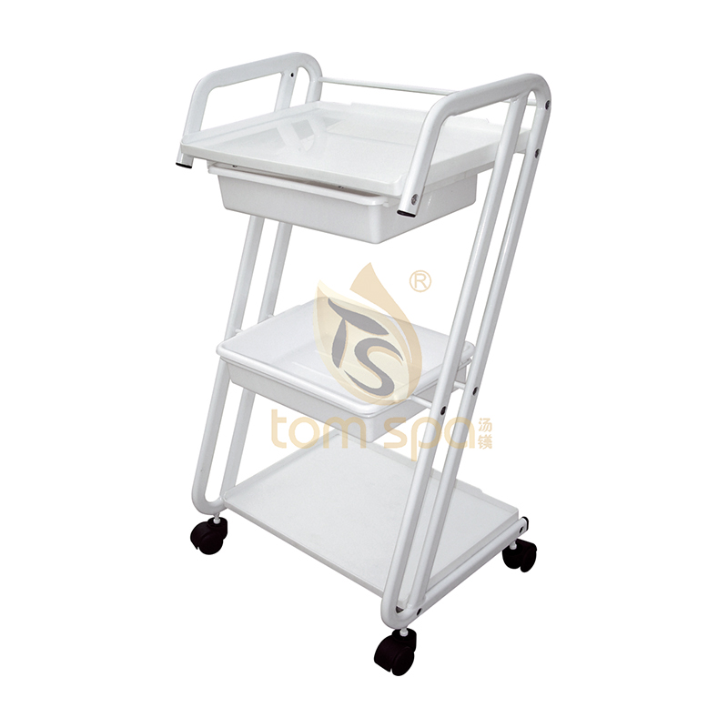 4 Rolling Casters Trolley